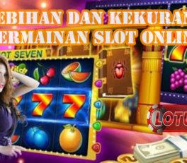 Kelebihan Dan Kekurangan Permainan Slot Online